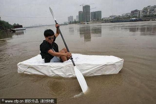 бумажная лодка